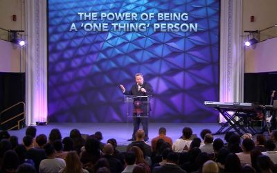 The Power of Being a 'One Thing' Person