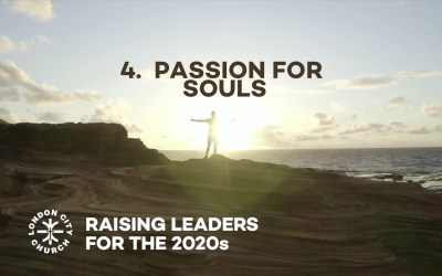 Raising Leaders for 2020 Vision SESSION 4