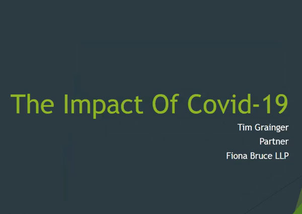 The Impact of Covid-19 – A Free Employment Law Webinar