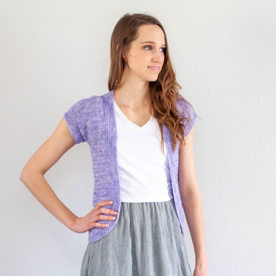 Spring Cardi – Crochet Pattern