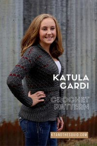 Katula Cardi Crochet cardigan pattern by kt and the squid
