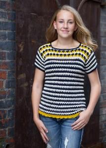 Gresham Park Top Crochet Pattern