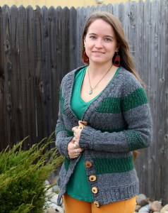 © Holly Priestley Forest Cardigan by Holly Priestley