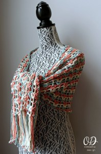 © Oombawka Design, 2016 Gently Reminisce Wrap by Oombawka Design (crochet, free)
