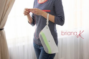 © Briana K Photography Clutch Wristlet Project Bag Purse by Briana K Crochet (crochet)