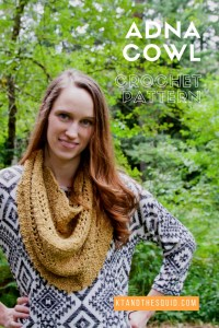 adna cowl crochet pattern by kt and the squid