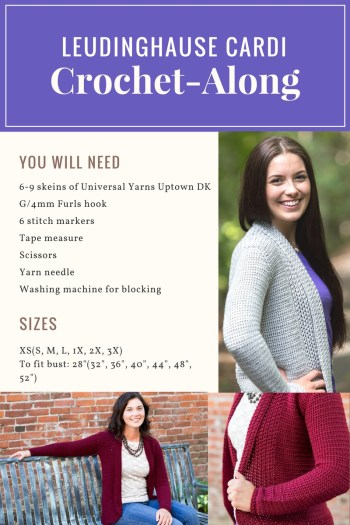Leudinghause Crochet-Along: Design Reveal, Supply List and Giveaway | KT and the Squid