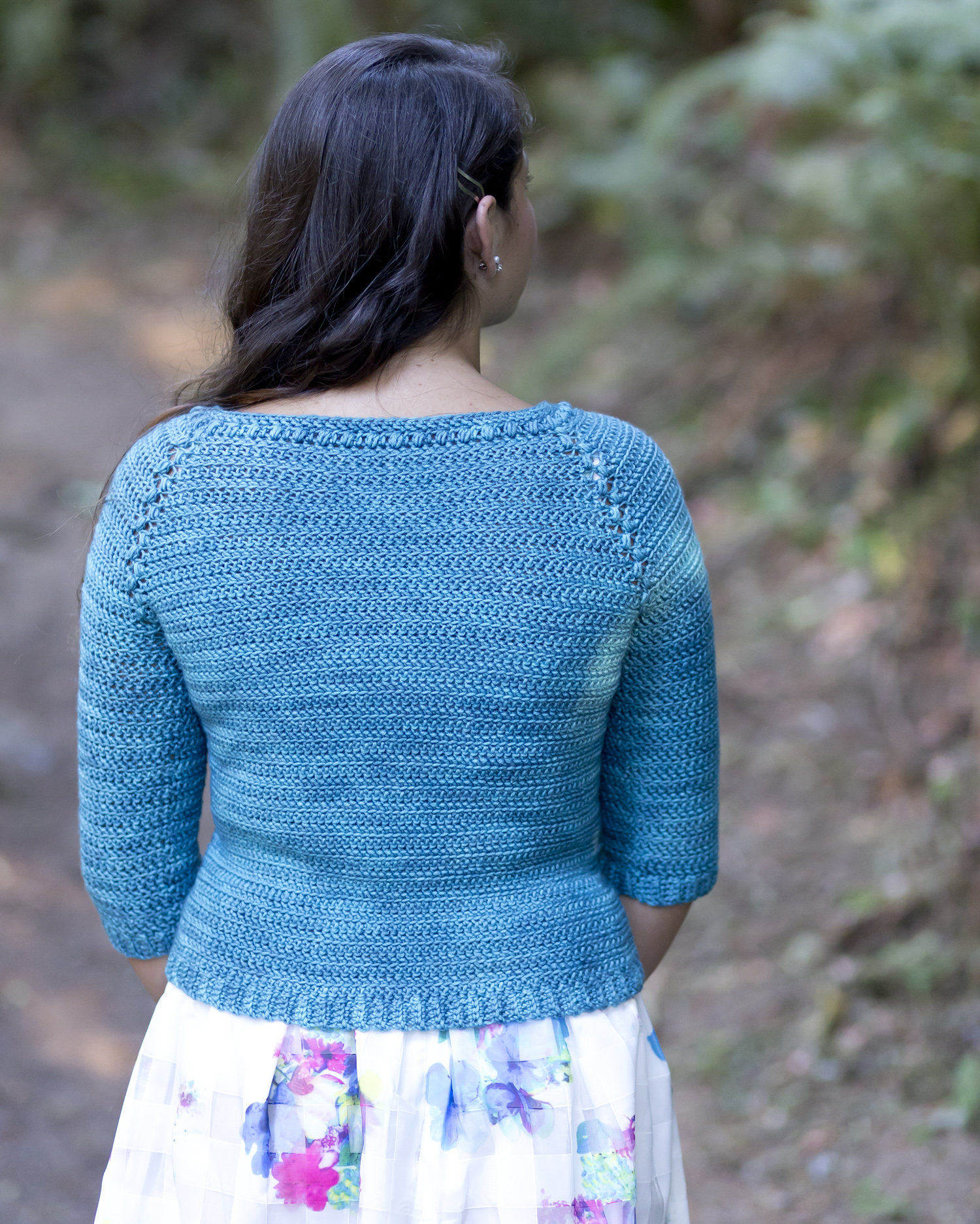 Icebox Cardi Crochet Pattern Kt And The Squid