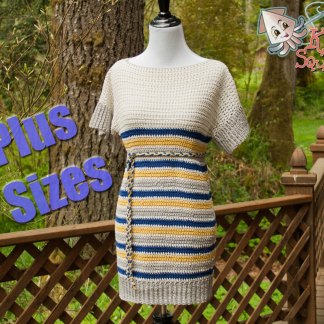 565301647 You re viewing  Lily Tunic (plus size) – Crochet Pattern  3.00