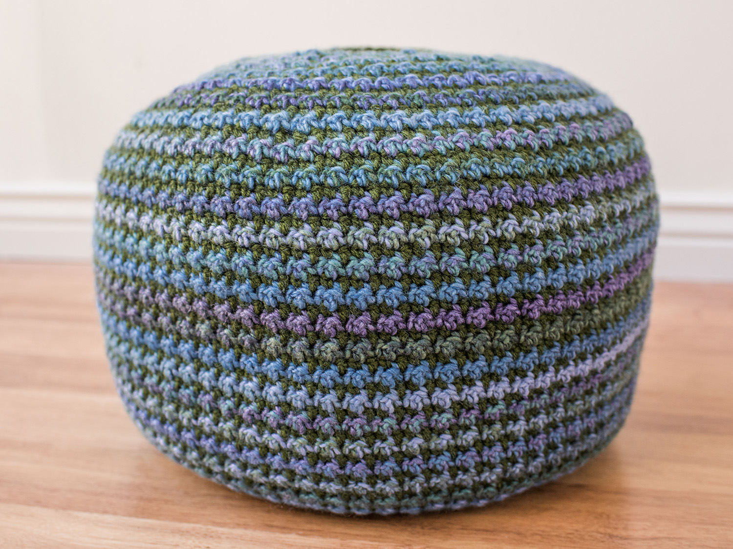 Piper Pouf Crochet Pattern Kt And The Squid