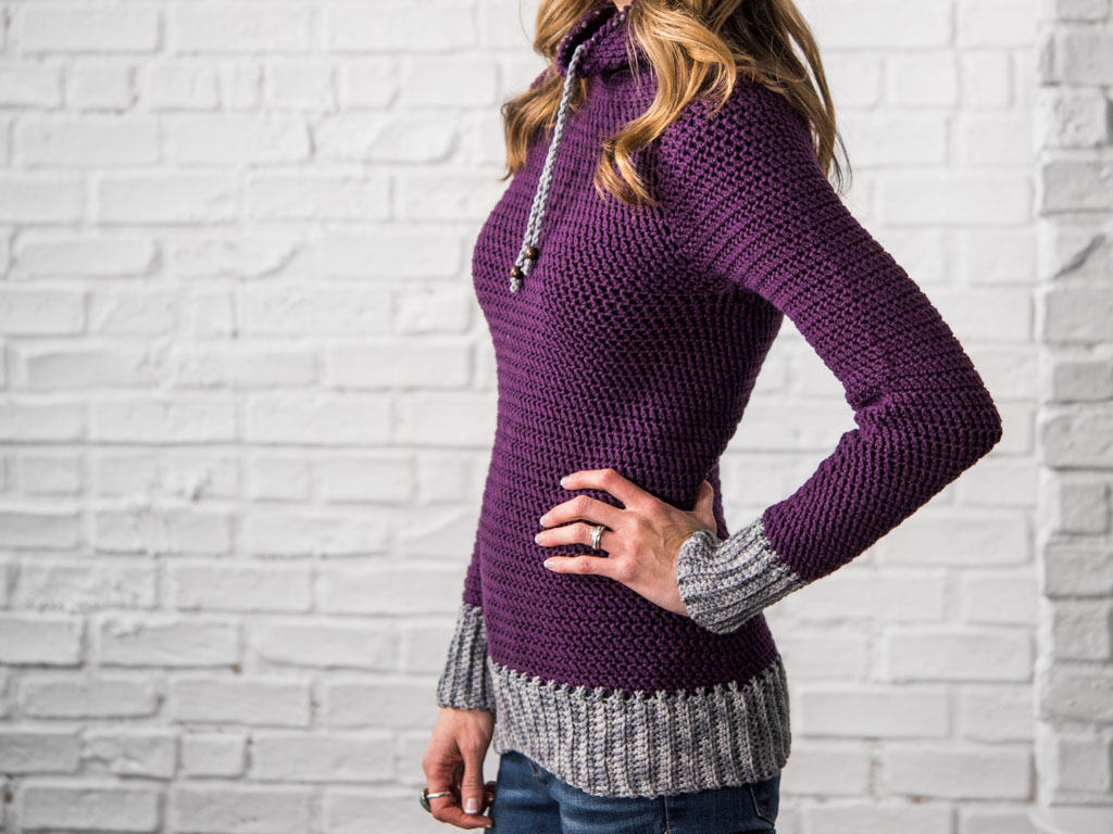 cf0ef1334 My Favorite Crochet Pullover - Crochet Pattern - KT and the Squid