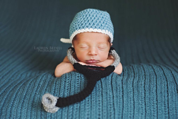 Scrub Hat And Stethoscope Set Crochet Pattern Kt And The Squid