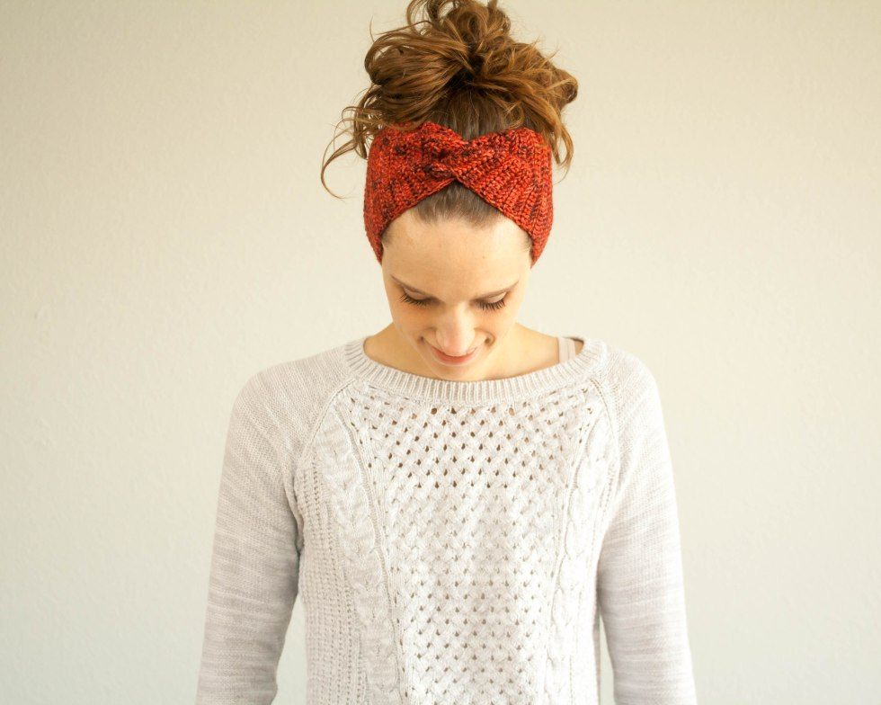 Simply Twist, Twist, Twist Headband – Crochet Pattern