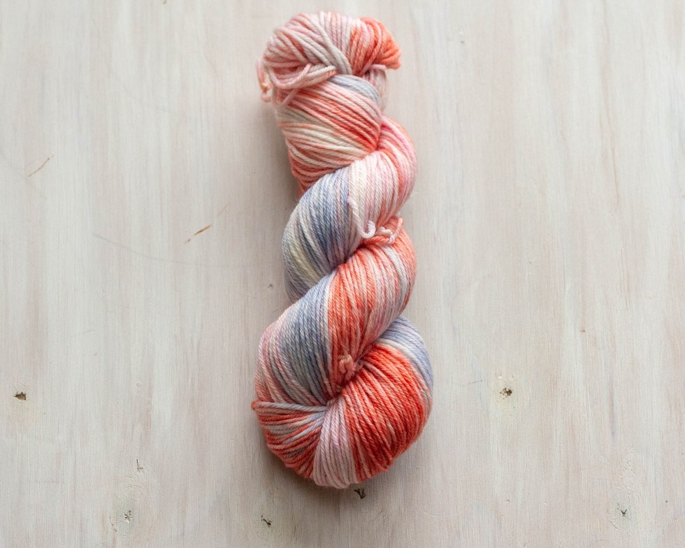 December's Mystery Colorway- Dyed for you