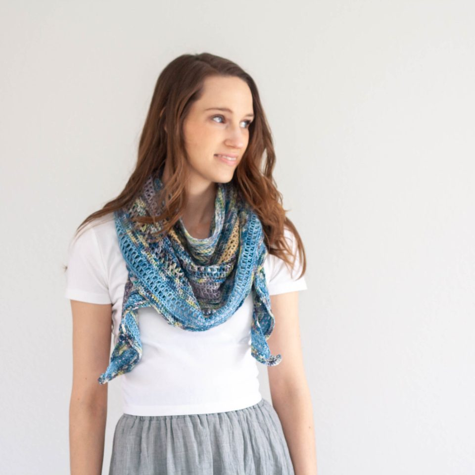 Wishing Well Shawl – Crochet Pattern