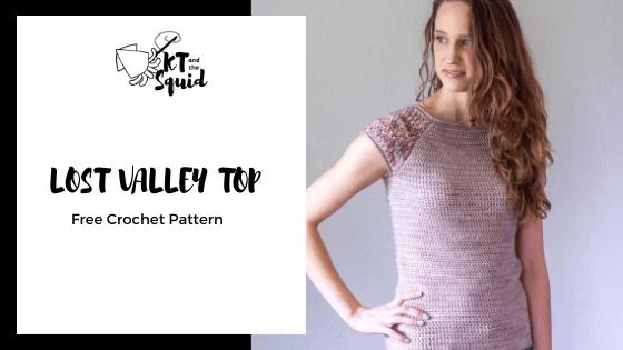 Lost Valley Top Free Crochet Pattern