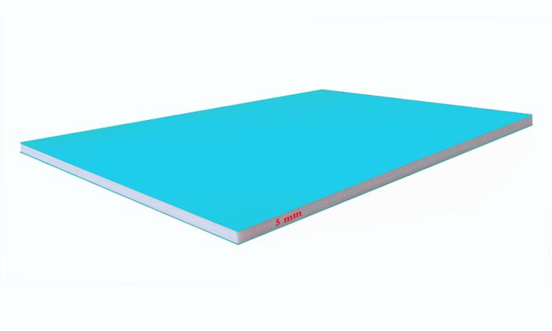 light blue foam boards 5mm colored foam board paper foam core china foam board factory