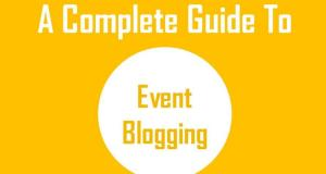 How to earn money with event blogging ?