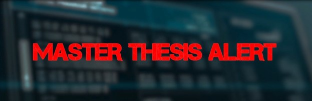 Are you searching for Master Thesis? Wake up!