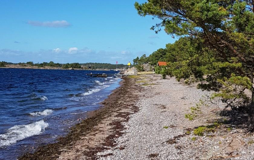 Beach side of Sandhamn