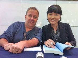 Me and Kim In-suk at SIBF 2011