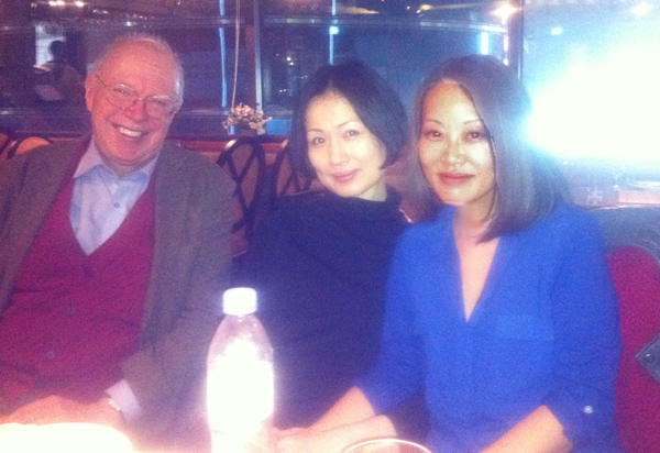 Brother Anthony, Jo Kyung Ran, and Krys Lee