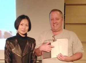 Me and Jo Kyung Ran