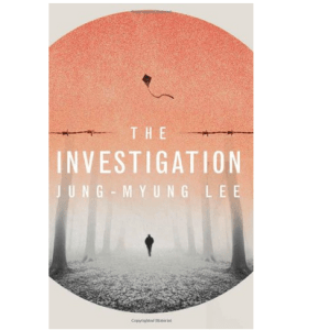 """Cover of """"The Investigation"""" by Lee Jung-myung"""