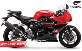 Hyosung Motorcycles launched in Nepali market