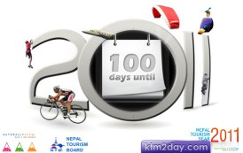 100-day countdown for Nepal Tourism Year 2011
