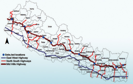 10 Locations Chosen For Hill Cities In Nepal Ktm2day Com