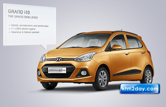 Hyundai Grand i10 car launched in Nepal | ktm2day.com