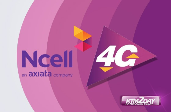 Ncell 4G service launched in Nepal