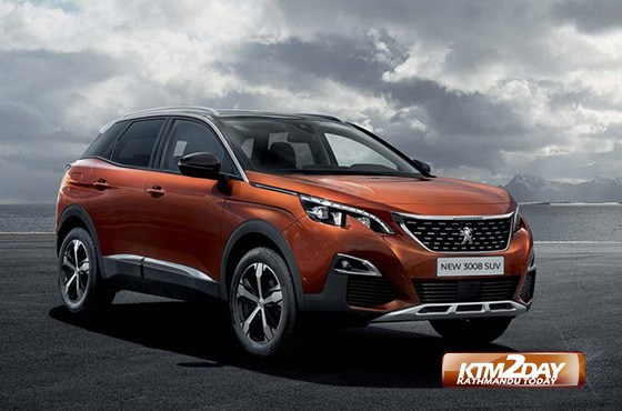 Peugeot 3008 SUV launched in Nepal