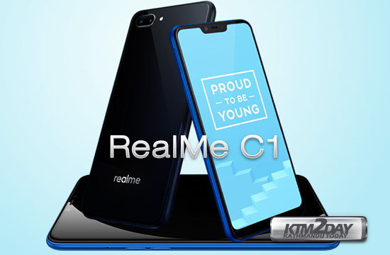 Realme C1 With 4 230mah Battery Display Notch Launched