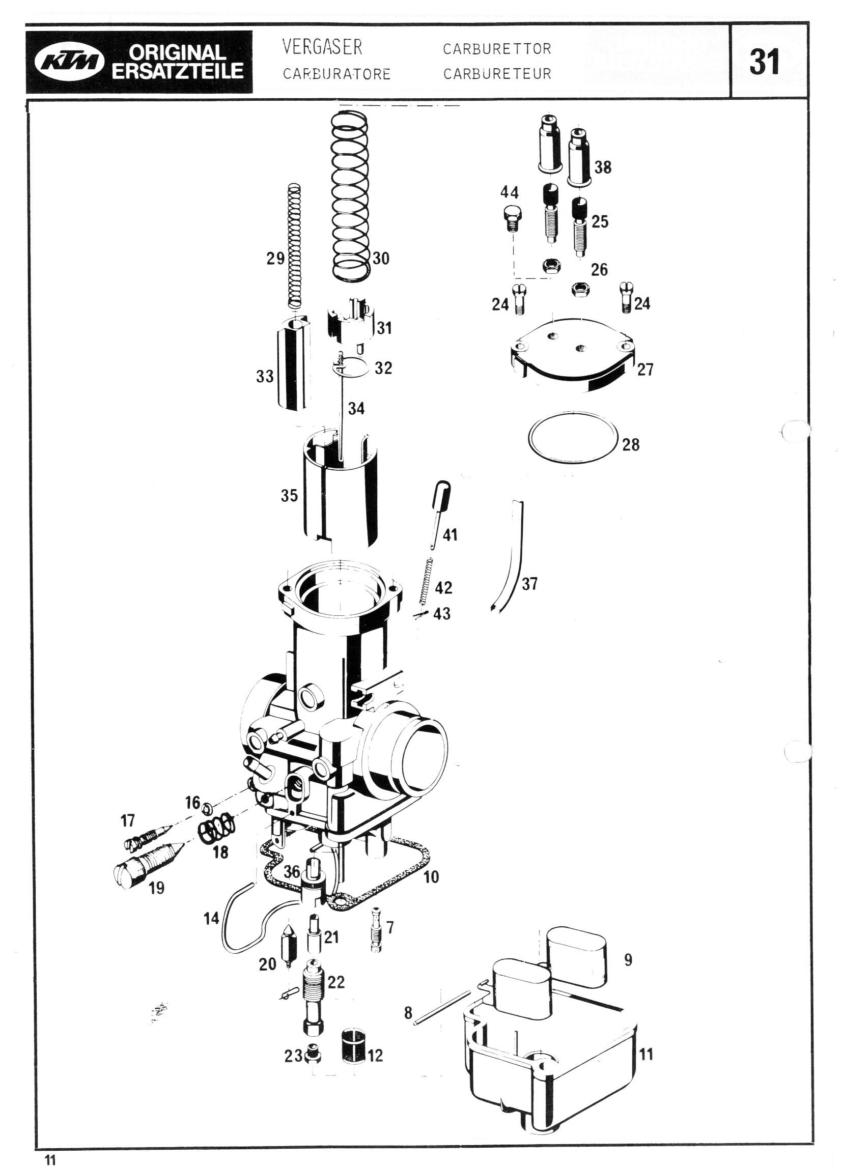 Ktm Mc Gs Engine Spare Parts Manual