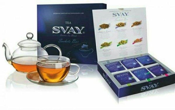 Разновидности чая Svay