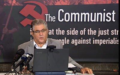 Kreikan kommunistien lausuma Yhdysvaltain tapahtumista