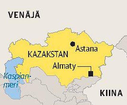 Punainen Jurtta ja Aurinkoinen Kazakstan (Osa2)