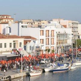 Kreikan ja Turkin nuoret tapasivat Mytilini-saarella