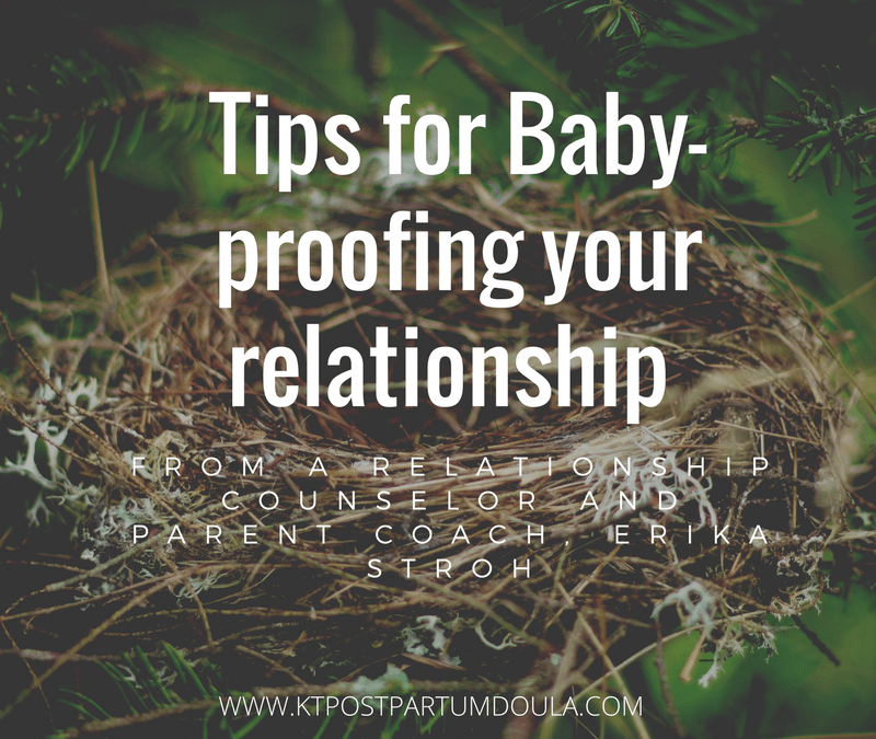 Tips for Baby Proofing your Relationship