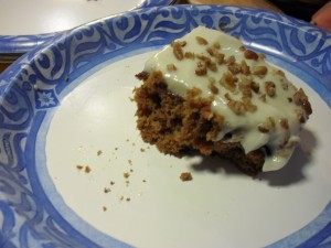 a Piece of Carrot Cake