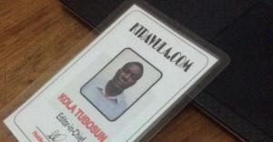 My new ID card.