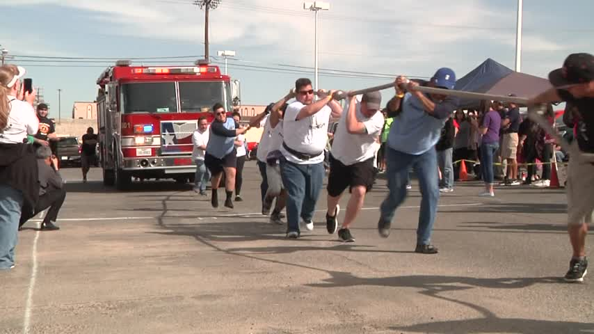 Annual Fire Truck Pull Benefits Special Olympics_99109006
