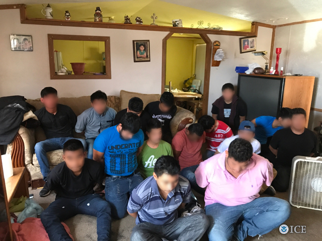 HSI, Border Patrol agents arrest 18 alien smugglers, 117