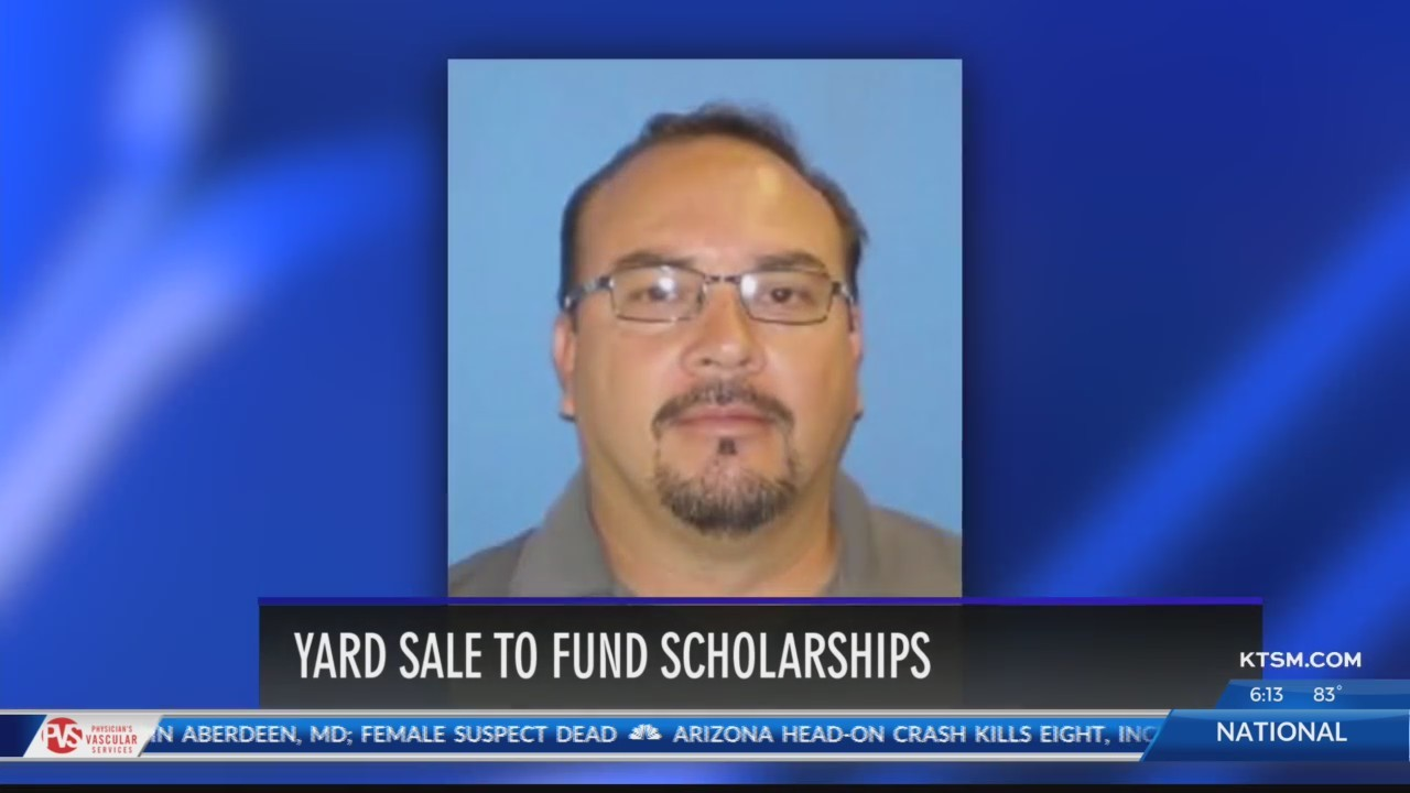 Family of Irvin coach killed in 2017 bus crash holds yard sale for scholarships