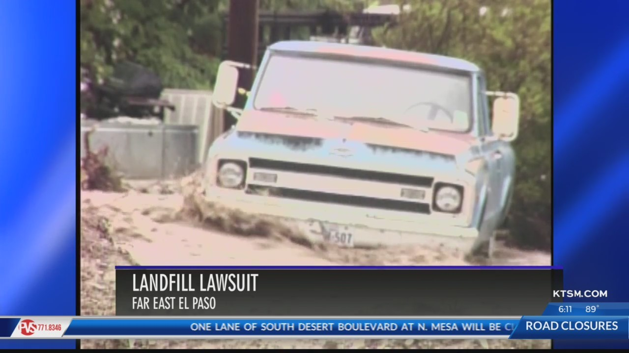 Lawsuit claims city is responsible for damage caused by Clint landfill flooding