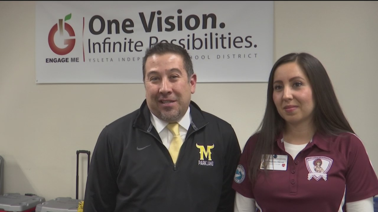 Family divided: Assistant principals of Ysleta, Parkland excited for Game of the Week