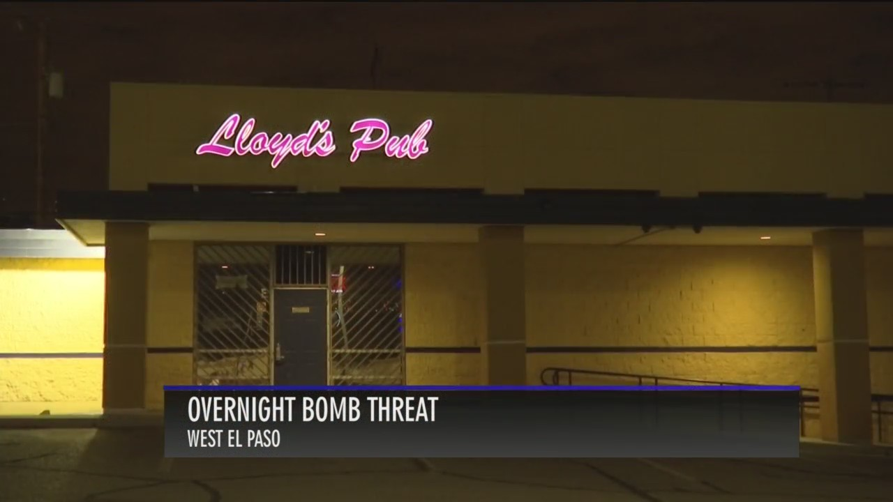 Man allegedly threatens to blow up Lloyd's Pub in West El Paso