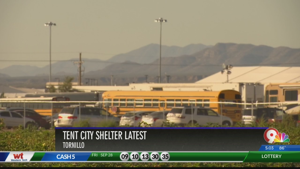 Reports: Hundreds of migrant children transferred to Tornillo 'tent city'